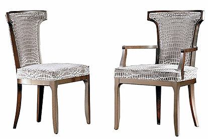 Toro S dining chair and carver